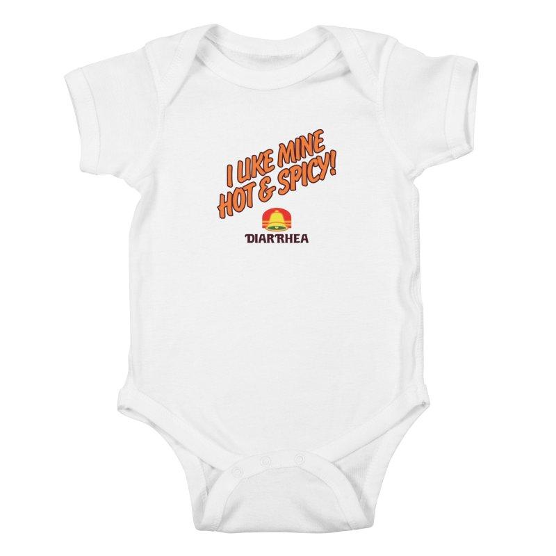HOT & SPICY Kids Baby Bodysuit by Teenage Stepdad