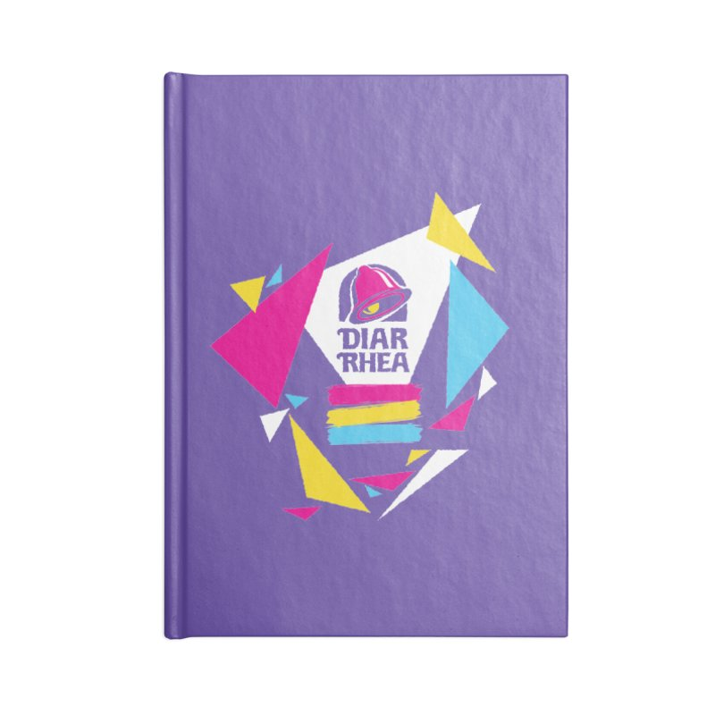 VAPORRHEA Accessories Blank Journal Notebook by Teenage Stepdad
