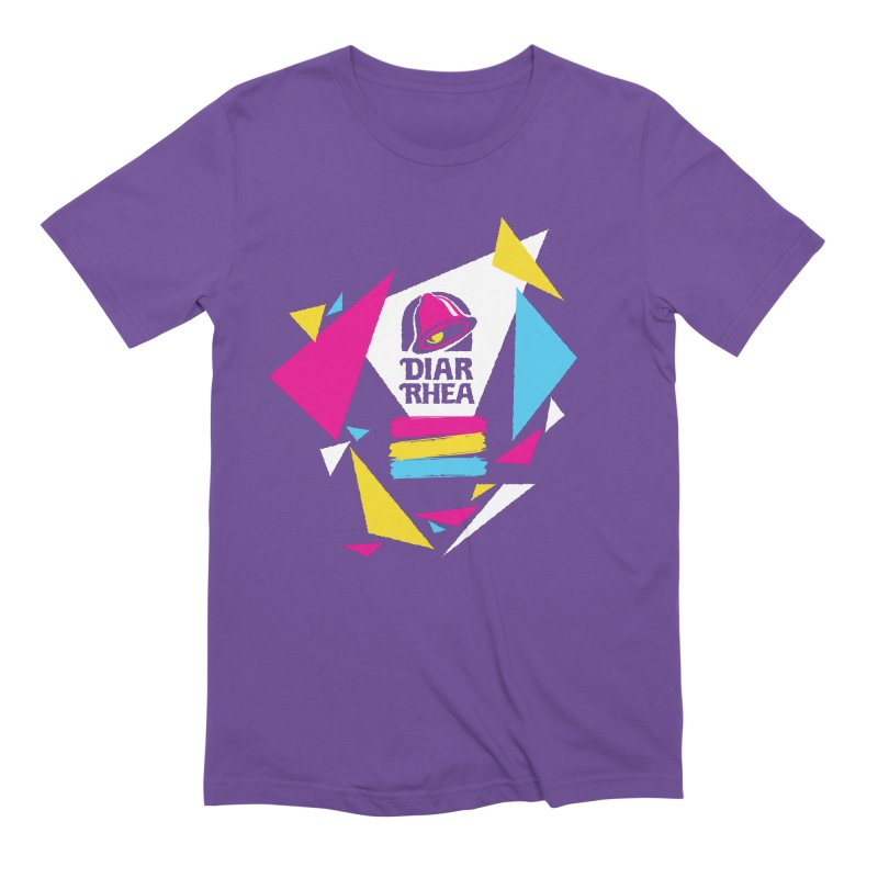 VAPORRHEA in Men's Extra Soft T-Shirt Purple by Teenage Stepdad