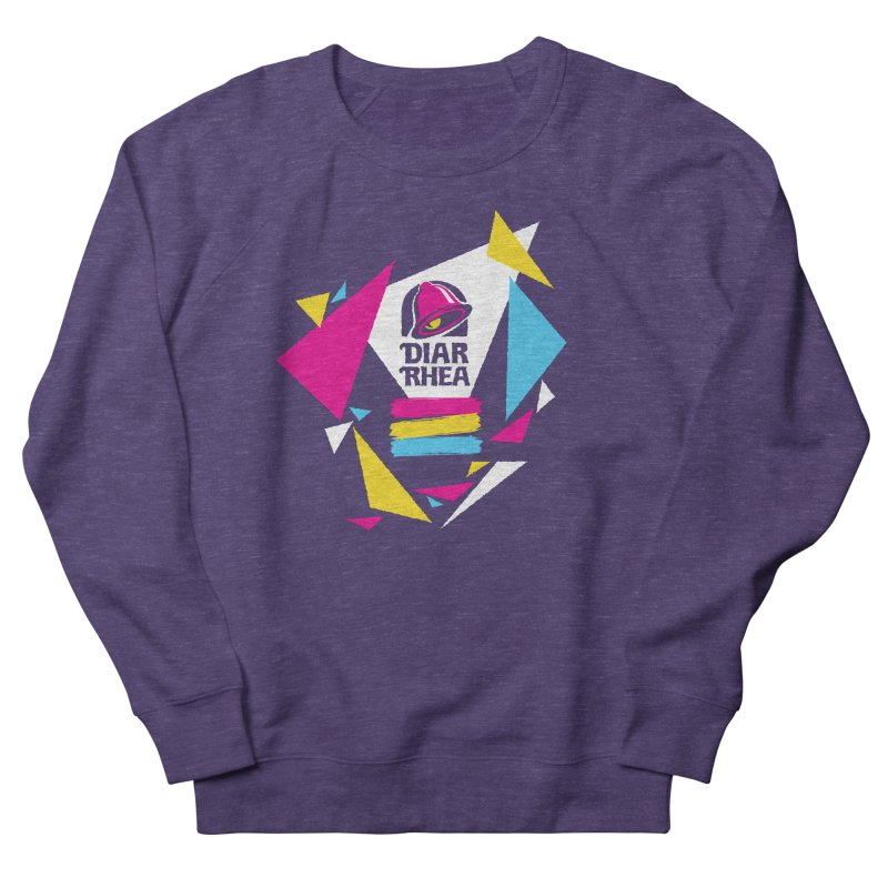 VAPORRHEA Women's French Terry Sweatshirt by Teenage Stepdad