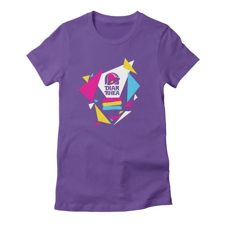 VAPORRHEA Women's Fitted T-Shirt by Teenage Stepdad