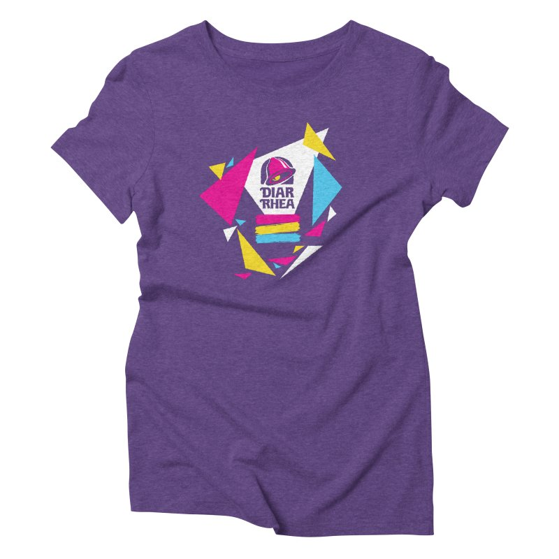 VAPORRHEA Women's Triblend T-Shirt by Teenage Stepdad