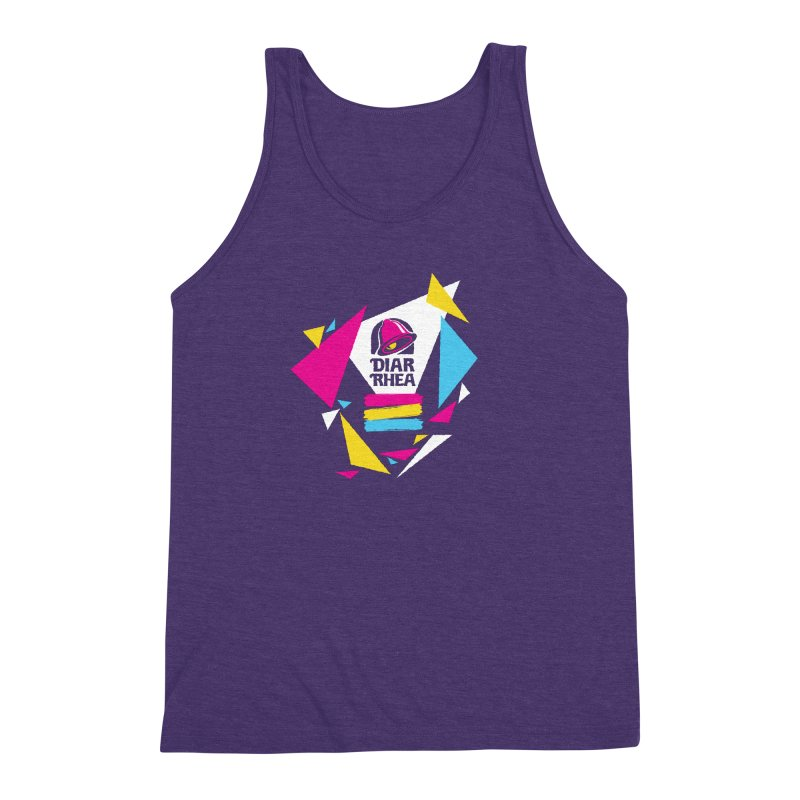VAPORRHEA Men's Triblend Tank by Teenage Stepdad