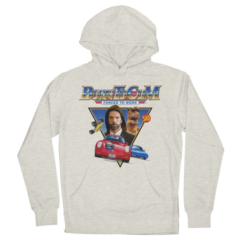 BORN TO CUM FORCED TO WORK Men's French Terry Pullover Hoody by Teenage Stepdad