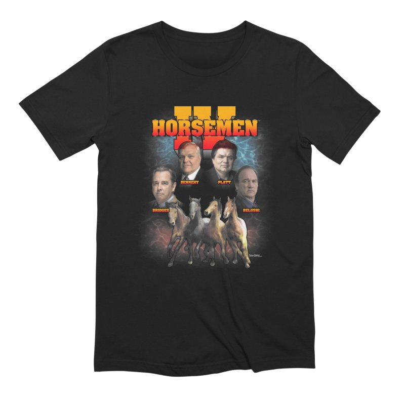 FOUR HORSEMEN BOOTLEG in Men's Extra Soft T-Shirt Black by Teenage Stepdad