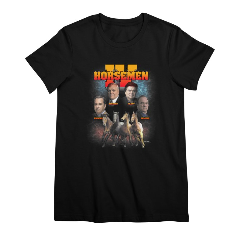 FOUR HORSEMEN BOOTLEG Women's Premium T-Shirt by Teenage Stepdad