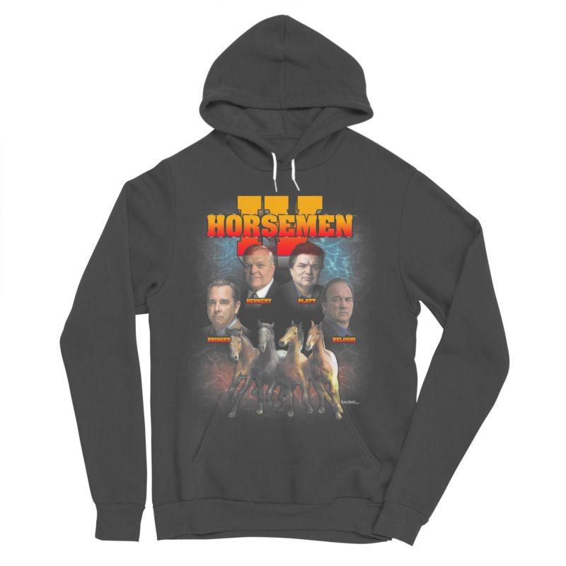 FOUR HORSEMEN BOOTLEG Women's Sponge Fleece Pullover Hoody by Teenage Stepdad