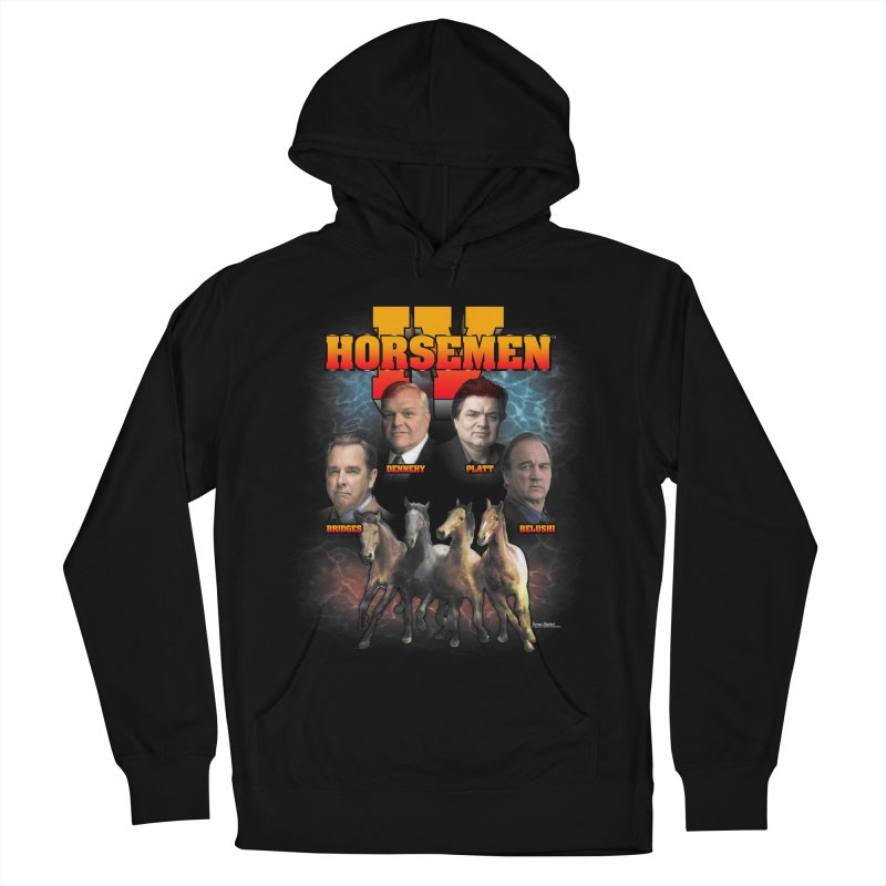 FOUR HORSEMEN BOOTLEG Men's French Terry Pullover Hoody by Teenage Stepdad