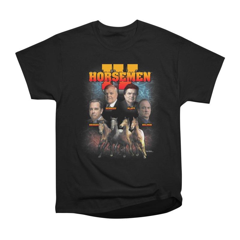 FOUR HORSEMEN BOOTLEG Women's Heavyweight Unisex T-Shirt by Teenage Stepdad