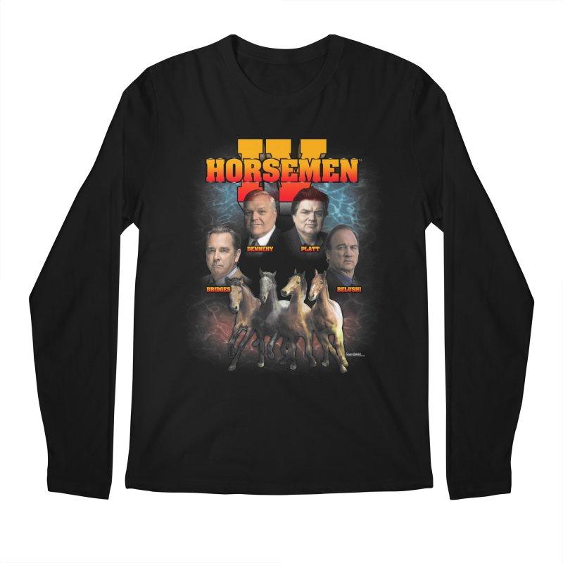 FOUR HORSEMEN BOOTLEG Men's Regular Longsleeve T-Shirt by Teenage Stepdad