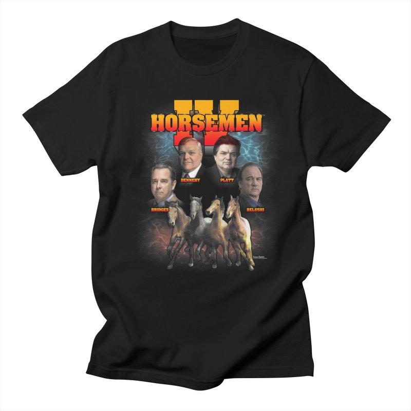 FOUR HORSEMEN BOOTLEG Men's Regular T-Shirt by Teenage Stepdad
