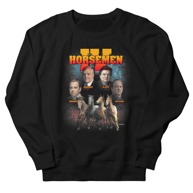 FOUR HORSEMEN BOOTLEG Women's French Terry Sweatshirt by Teenage Stepdad