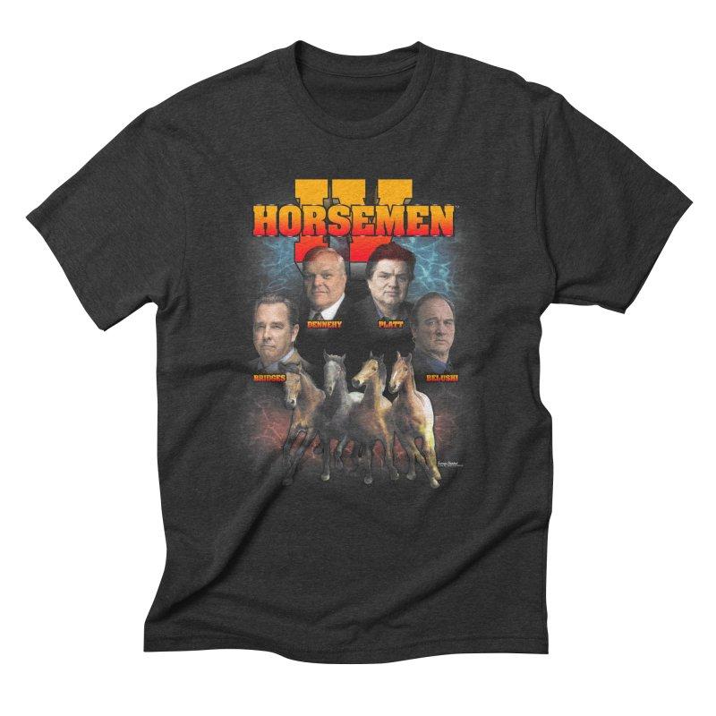FOUR HORSEMEN BOOTLEG Men's Triblend T-Shirt by Teenage Stepdad