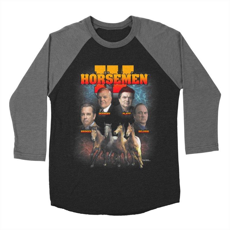 FOUR HORSEMEN BOOTLEG Women's Baseball Triblend Longsleeve T-Shirt by Teenage Stepdad