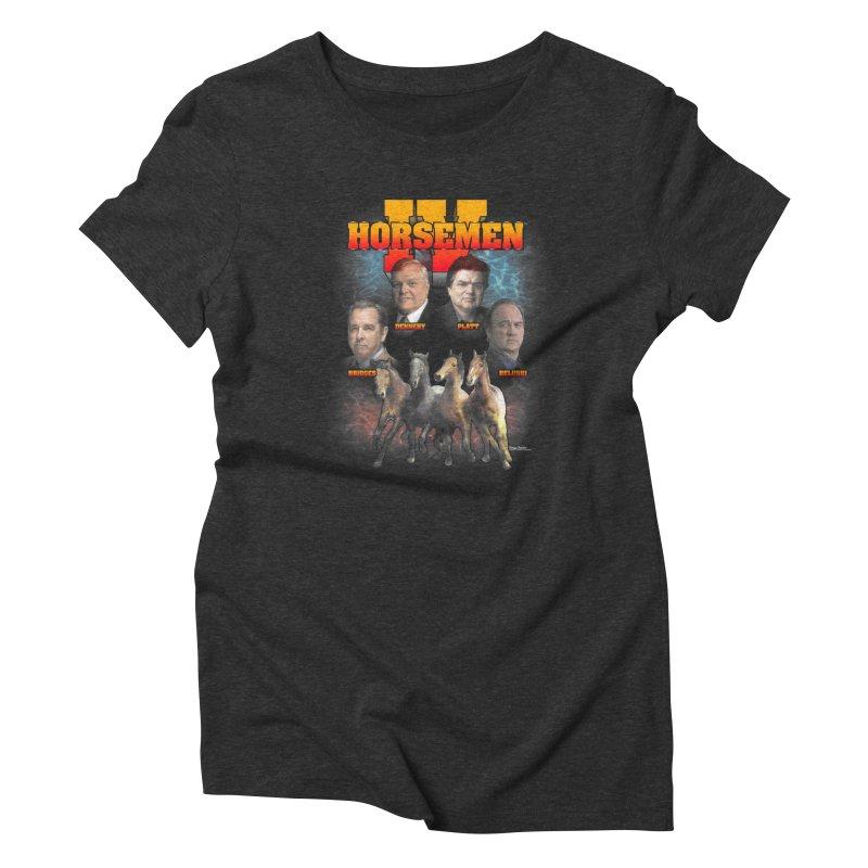 FOUR HORSEMEN BOOTLEG Women's Triblend T-Shirt by Teenage Stepdad
