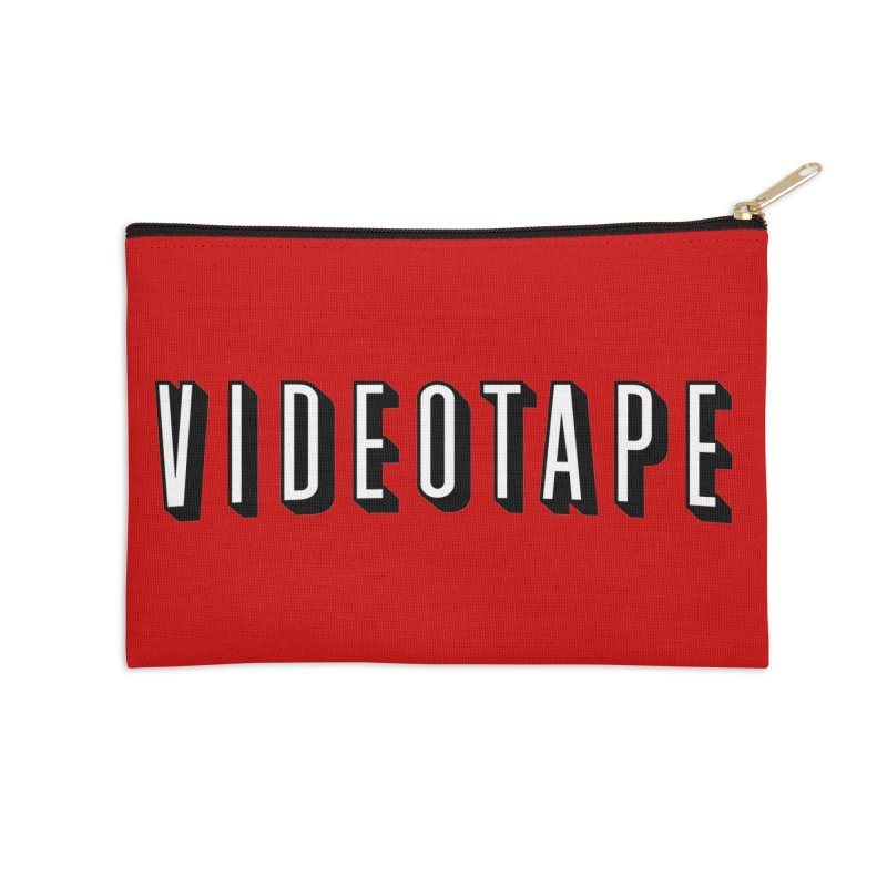 VIDEOTAPE Accessories Zip Pouch by Teenage Stepdad