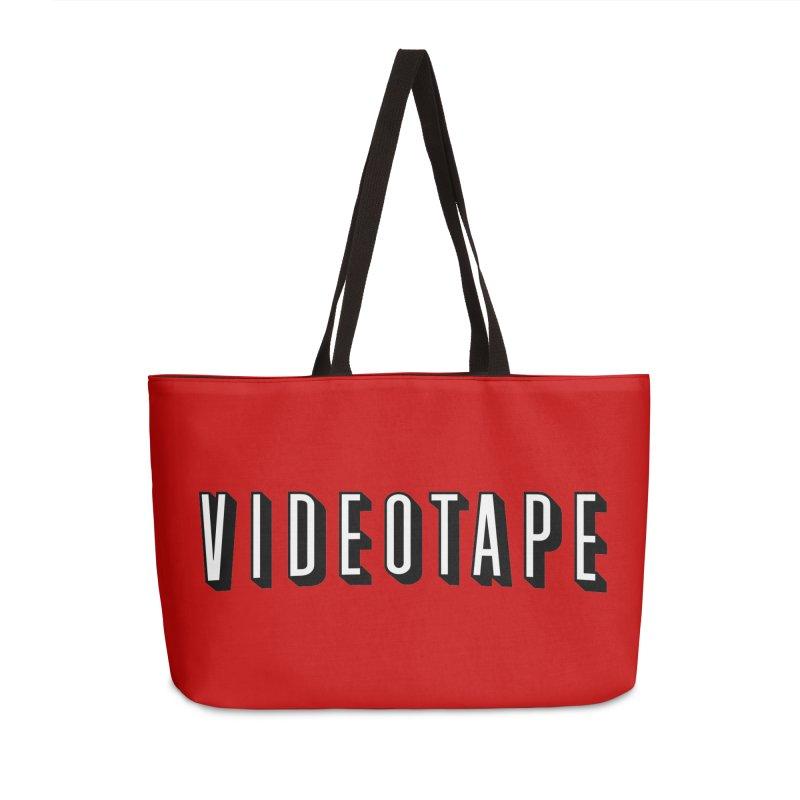 VIDEOTAPE Accessories Weekender Bag Bag by Teenage Stepdad
