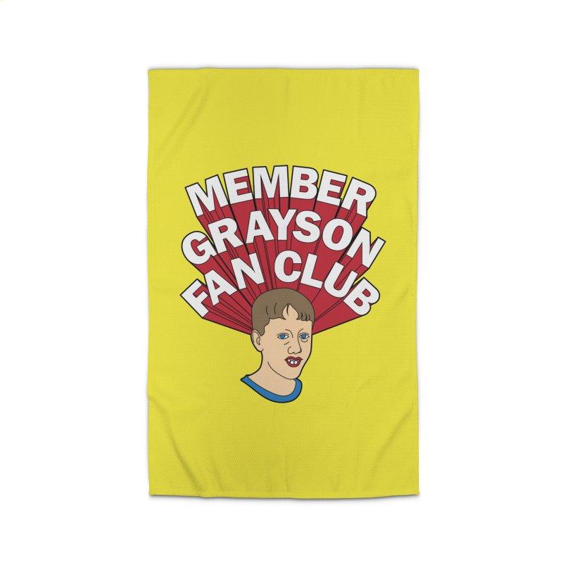 MEMBER GRAYSON FAN CLUB Home Rug by Teenage Stepdad