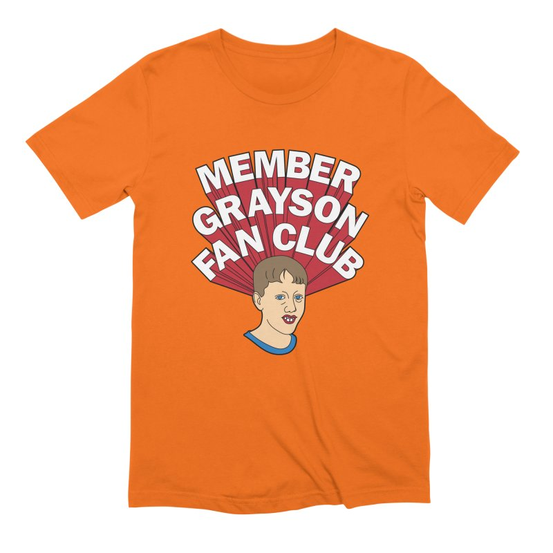 MEMBER GRAYSON FAN CLUB Men's Extra Soft T-Shirt by Teenage Stepdad