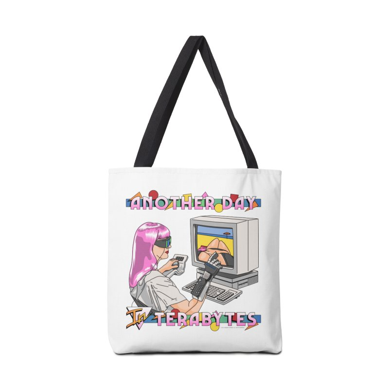 ANOTHER DAY IN TERABYTES Accessories Tote Bag Bag by Teenage Stepdad