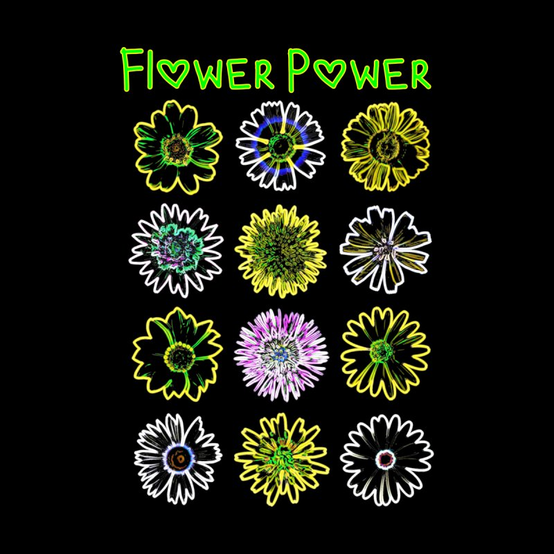 Flower Power by Tee Panic T-Shirt Shop by Muzehack