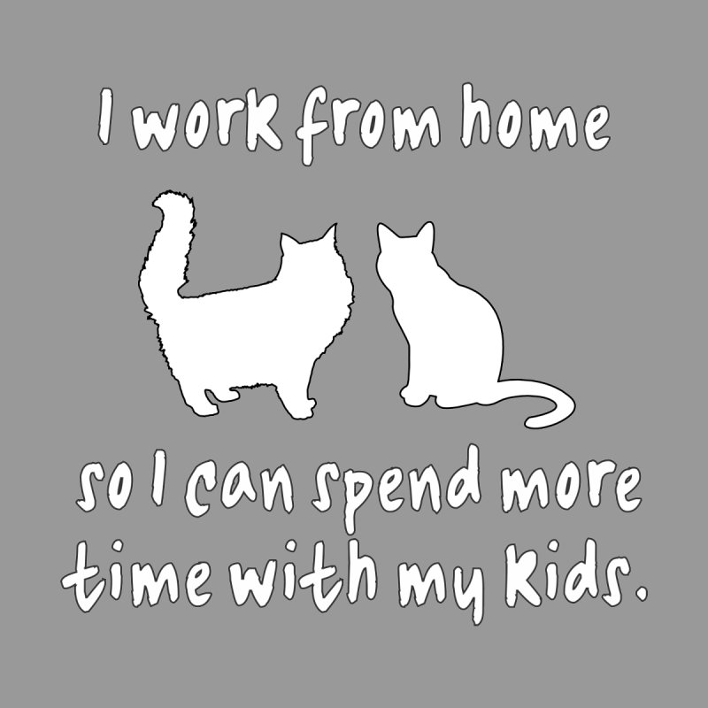 Work From Home Cats by Tee Panic T-Shirt Shop by Muzehack
