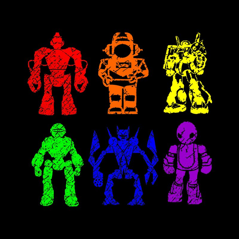 Pride Bots by Tee Panic T-Shirt Shop by Muzehack