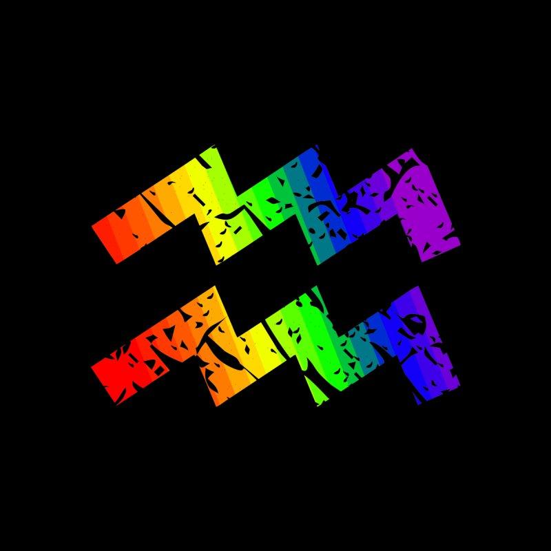 Aquarius Rainbow Zodiac by Tee Panic T-Shirt Shop by Muzehack