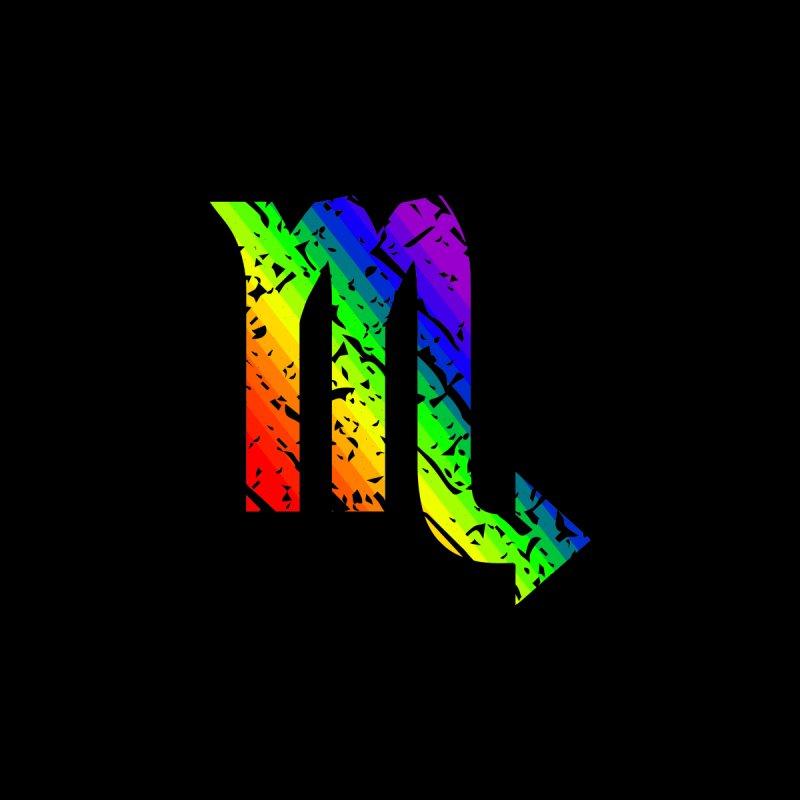 Scorpio Rainbow Zodiac by Tee Panic T-Shirt Shop by Muzehack