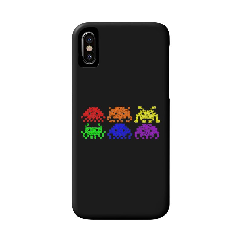 Pride Invaders T-shirt Accessories Phone Case by Tee Panic T-Shirt Shop by Muzehack