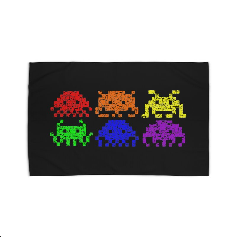 Pride Invaders T-shirt Home Rug by Tee Panic T-Shirt Shop by Muzehack
