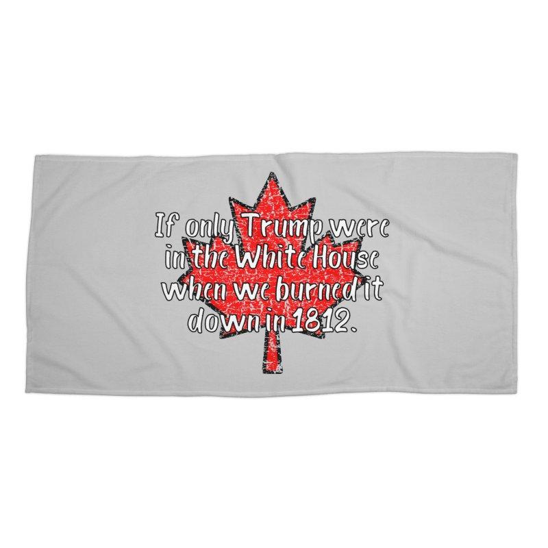 War of 1812 T-shirt Accessories Beach Towel by Tee Panic T-Shirt Shop by Muzehack