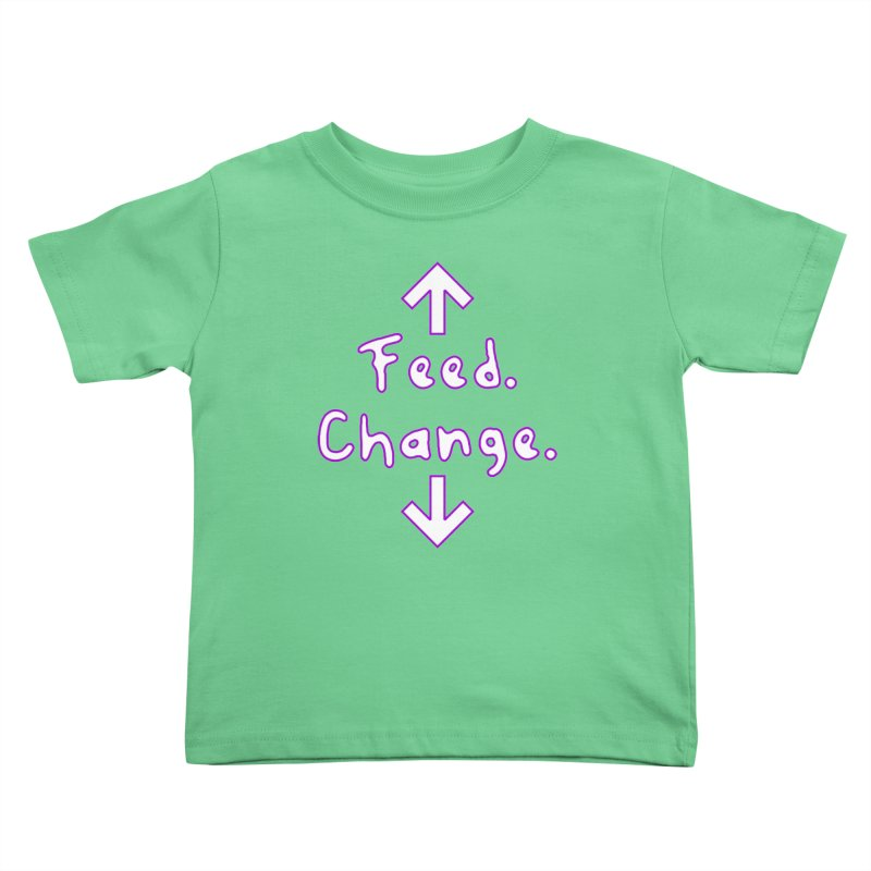 Baby Instructions Kids Toddler T-Shirt by Tee Panic T-Shirt Shop by Muzehack