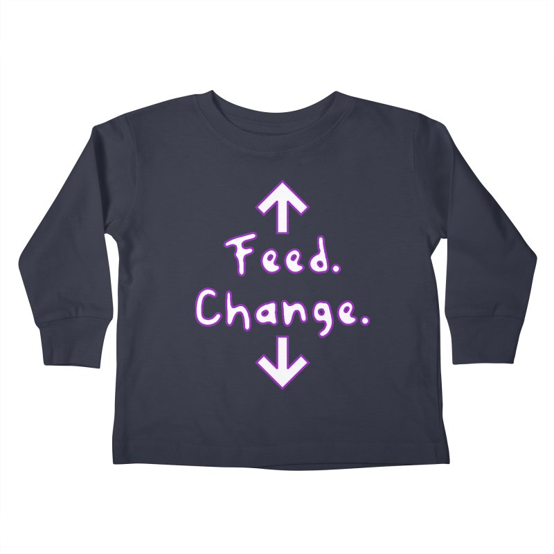 Baby Instructions Kids Toddler Longsleeve T-Shirt by Tee Panic T-Shirt Shop by Muzehack