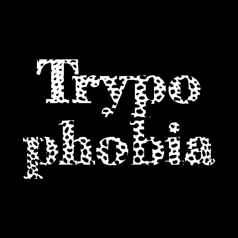 Trypophobia Tshirt   by Tee Panic T-Shirt Shop by Muzehack