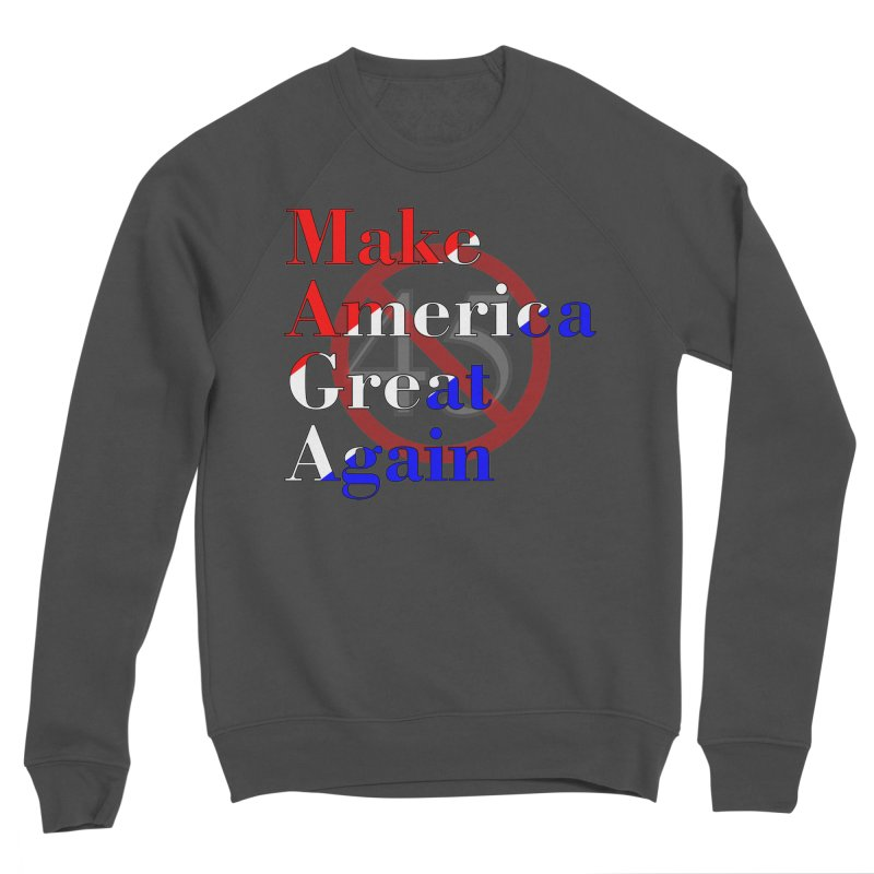 MAGA Impeach 45 T-shirt Women's Sponge Fleece Sweatshirt by Tee Panic T-Shirt Shop by Muzehack