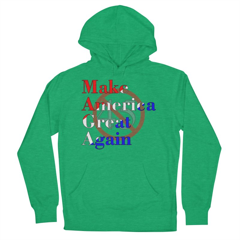 MAGA Impeach 45 T-shirt Men's French Terry Pullover Hoody by Tee Panic T-Shirt Shop by Muzehack