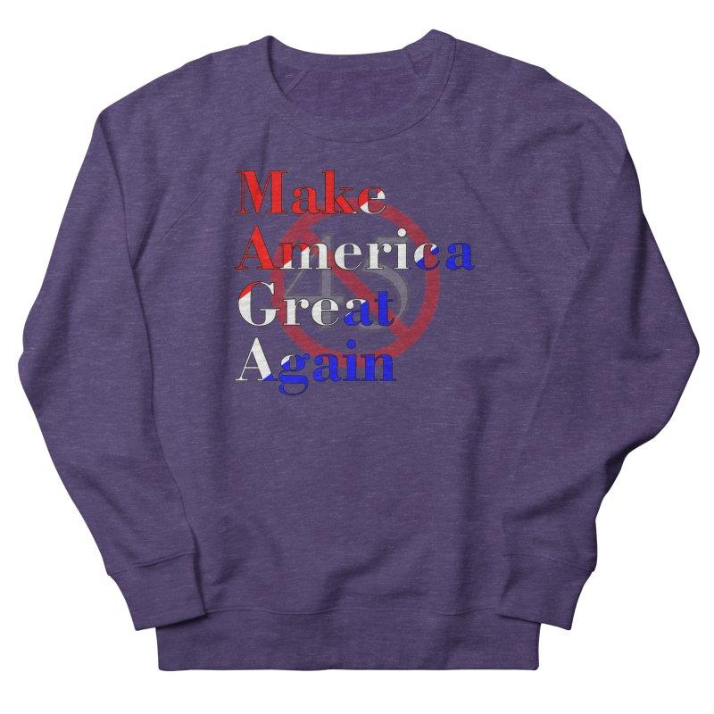 MAGA Impeach 45 T-shirt Women's French Terry Sweatshirt by Tee Panic T-Shirt Shop by Muzehack