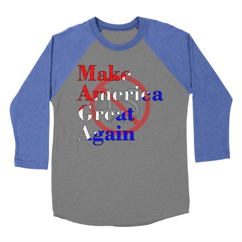 MAGA Impeach 45 T-shirt Women's Baseball Triblend Longsleeve T-Shirt by Tee Panic T-Shirt Shop by Muzehack