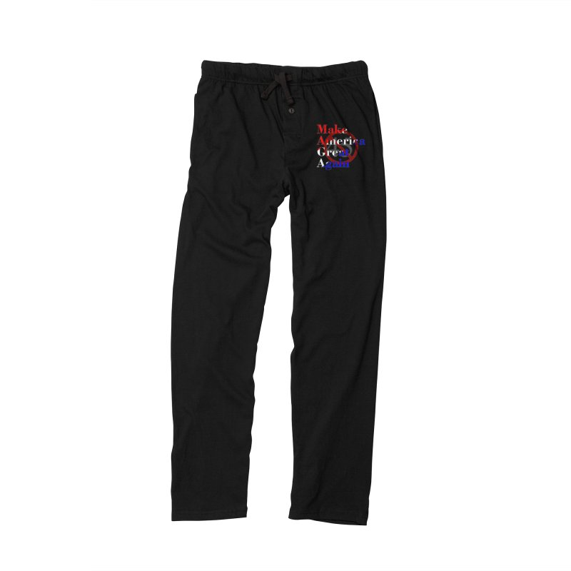 MAGA Impeach 45 T-shirt Men's Lounge Pants by Tee Panic T-Shirt Shop by Muzehack