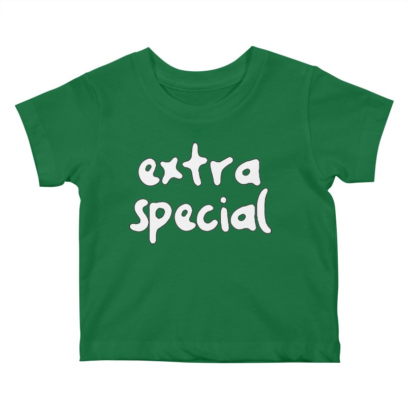 Extra Special T-shirt Kids Baby T-Shirt by Tee Panic T-Shirt Shop by Muzehack