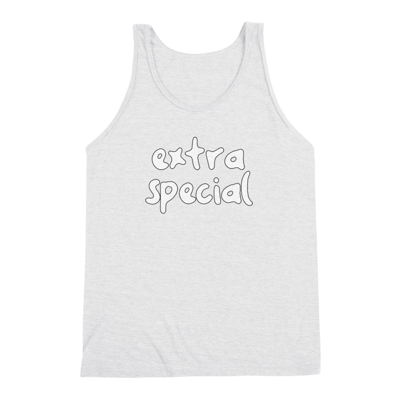 Extra Special T-shirt Men's Triblend Tank by Tee Panic T-Shirt Shop by Muzehack