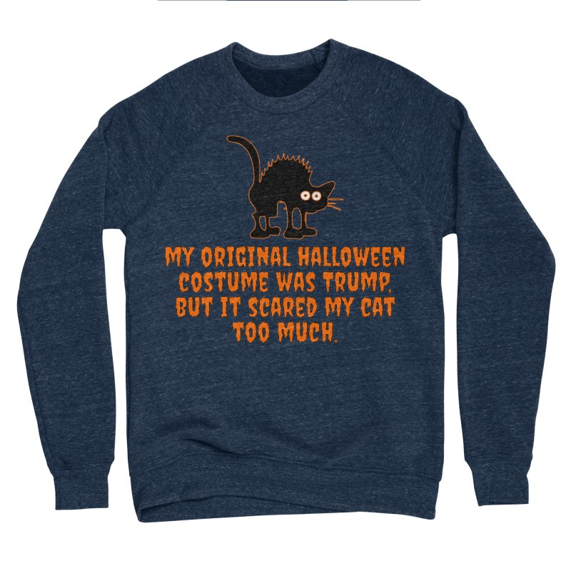 Trump Halloween Costume T-shirt Men's Sponge Fleece Sweatshirt by Tee Panic T-Shirt Shop by Muzehack