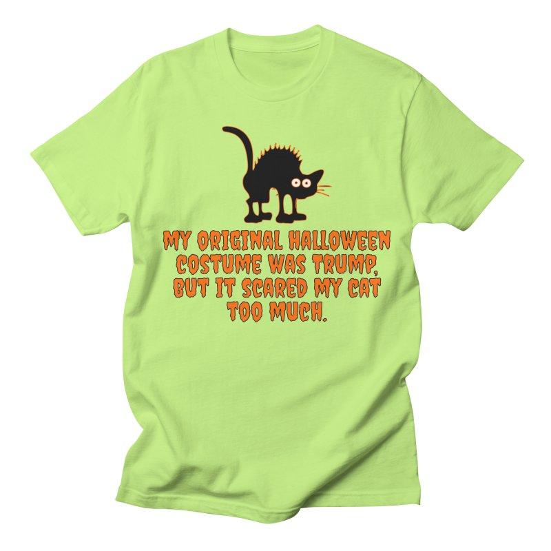 Trump Halloween Costume T-shirt Men's Regular T-Shirt by Tee Panic T-Shirt Shop by Muzehack