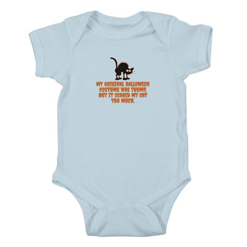 Trump Halloween Costume T-shirt Kids Baby Bodysuit by Tee Panic T-Shirt Shop by Muzehack