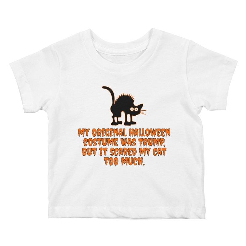 Trump Halloween Costume T-shirt Kids Baby T-Shirt by Tee Panic T-Shirt Shop by Muzehack
