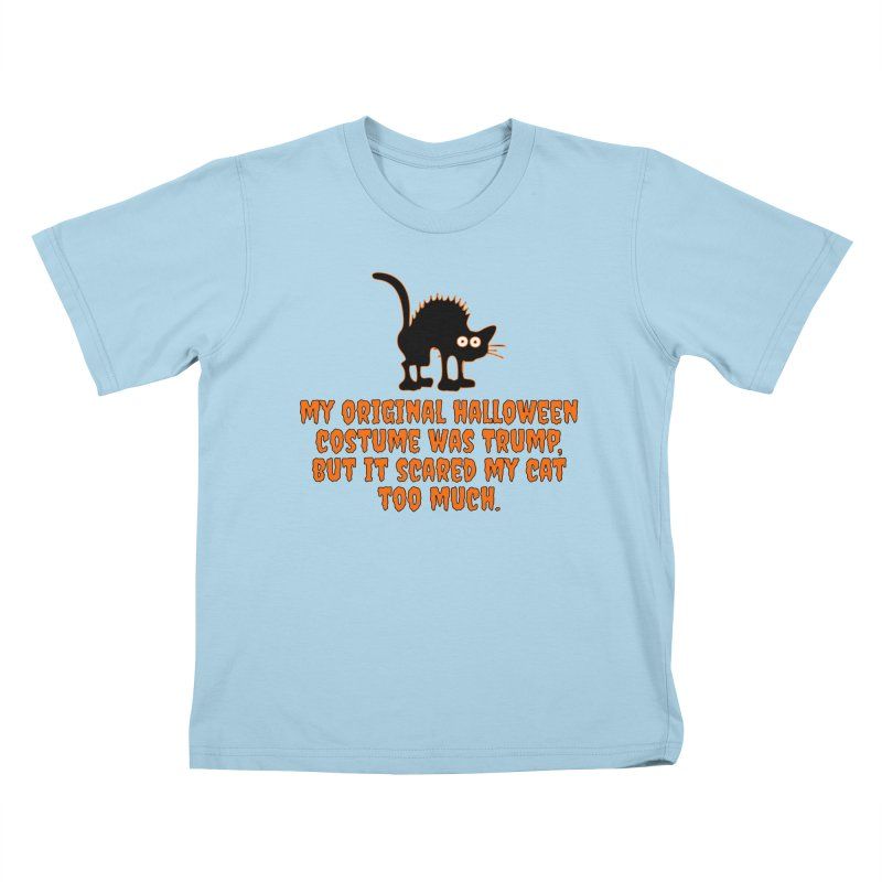 Trump Halloween Costume T-shirt Kids T-Shirt by Tee Panic T-Shirt Shop by Muzehack