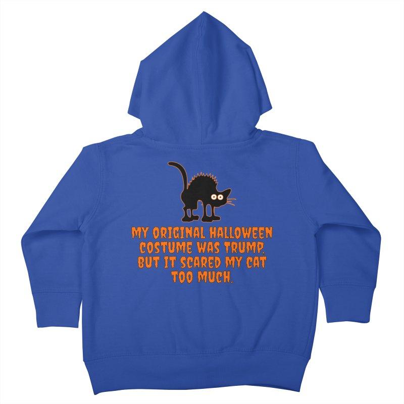 Trump Halloween Costume T-shirt Kids Toddler Zip-Up Hoody by Tee Panic T-Shirt Shop by Muzehack