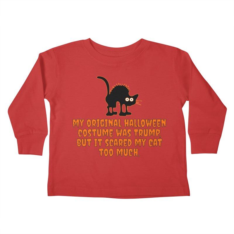 Trump Halloween Costume T-shirt Kids Toddler Longsleeve T-Shirt by Tee Panic T-Shirt Shop by Muzehack