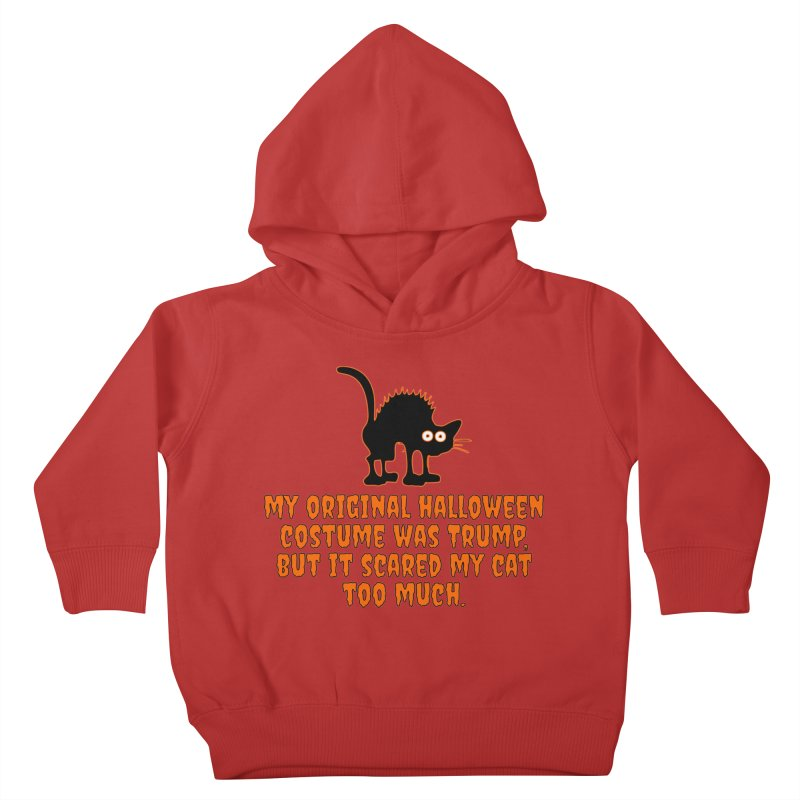 Trump Halloween Costume T-shirt Kids Toddler Pullover Hoody by Tee Panic T-Shirt Shop by Muzehack